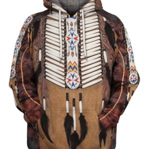 pull ethniqueamérindien Chinook boho