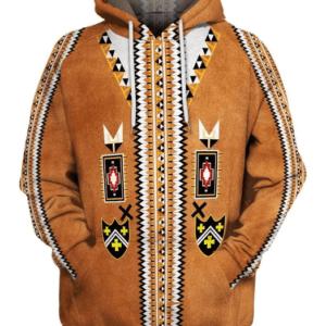 pull ethniqueamérindien Maleku chic
