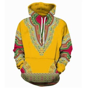 Pull ethniquemandala jaune chic