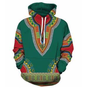 Pull ethniquemandala vert chic