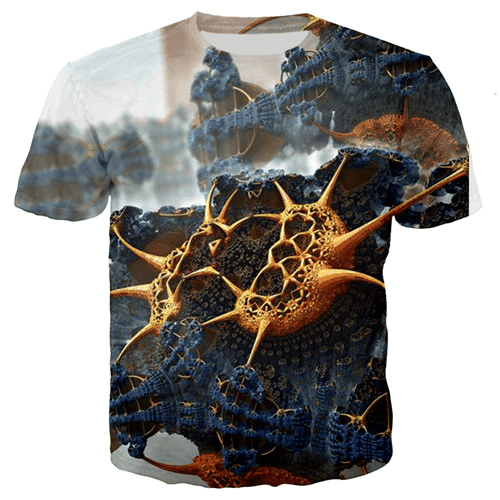 T-shirt homme imprimé ethnique