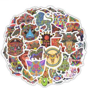 stickers style ethnique