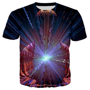 t-shirt motif ethnique homme
