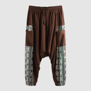 pantalon bouffant ethnique homme