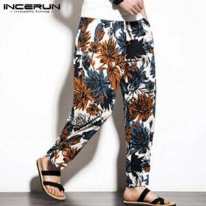 Pantalon ethnique vintage automne chic