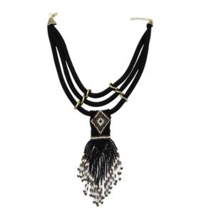 Collier ethnique afrique perle