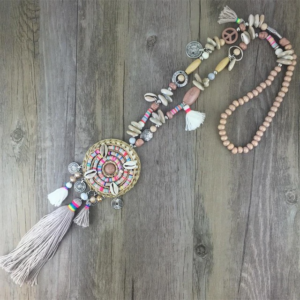 Collier ethnique artisanal